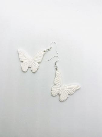 Cercei cu fluturi din argint - handmade [10]