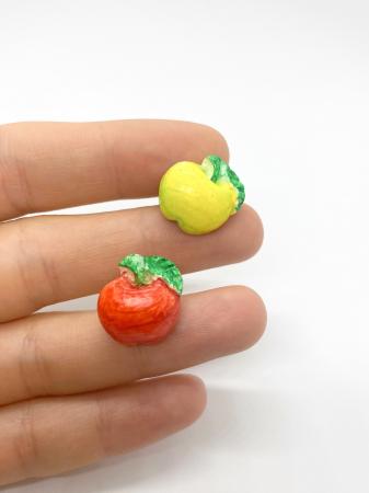 Cercei cu mere cercercei handmade [3]