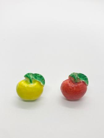 Cercei cu mere cercercei handmade [2]