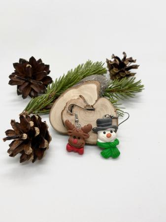 Cercei de iarna- handmade [3]