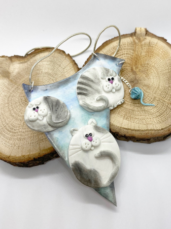 Colier cu pisici haioase7