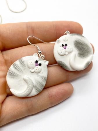 Cercei cu pisici haioase1