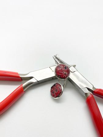 Cercei IT din argint cercercei  - Handmade [7]