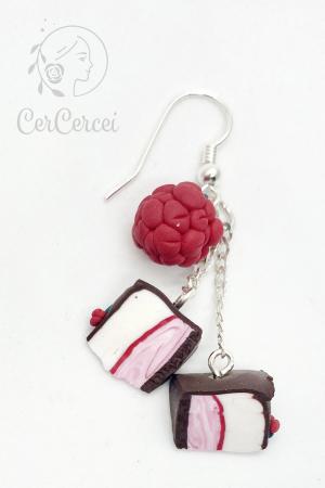 Cercei tort cu zmeura si ciocolata cercercei [5]