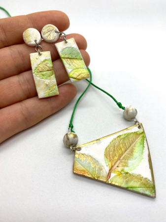 Set de bijuterii handmade cercercei [2]