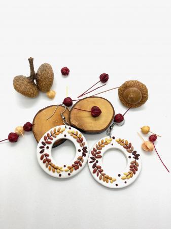 Cercei de toamna - handmade [1]