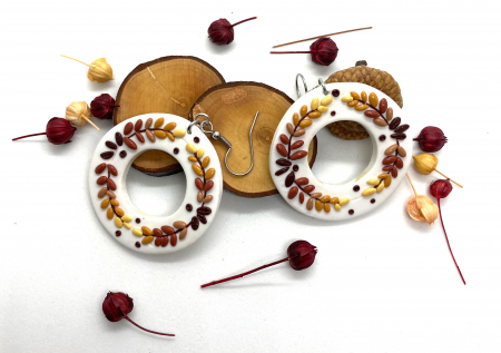 Cercei de toamna - handmade [4]