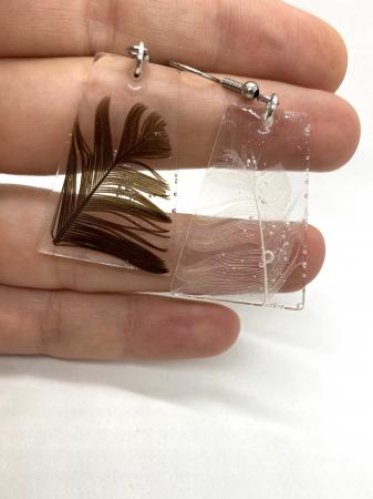 Set handmade cu pene [1]