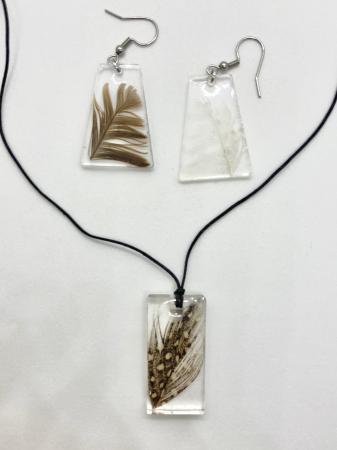 Set handmade cu pene [5]