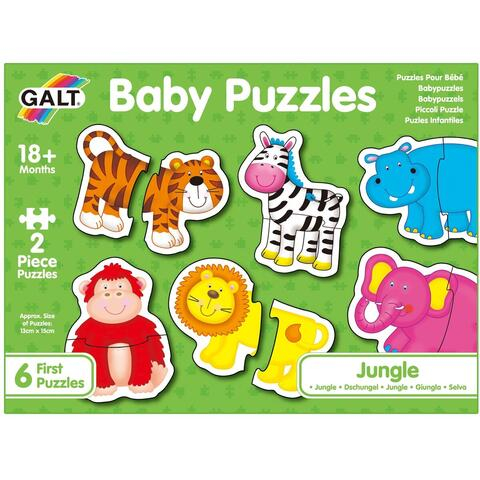 Baby Puzzle: Animale din jungla (2 piese) [0]