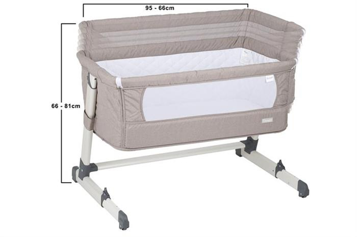 BabyGo - Patut co-sleeper 2 in 1 Together Beige 7