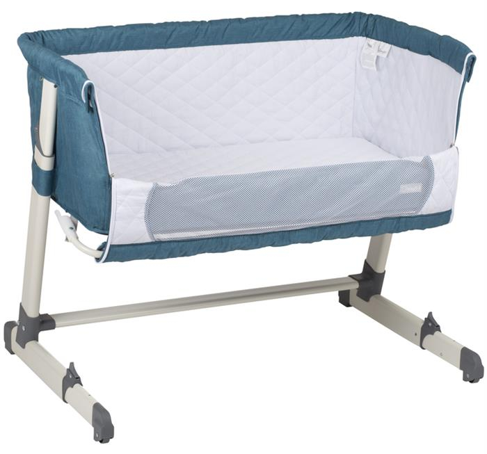 BabyGo - Patut co-sleeper 2 in 1 Together Turquoise Blue 5