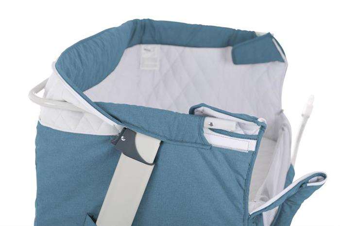 BabyGo - Patut co-sleeper 2 in 1 Together Turquoise Blue 2