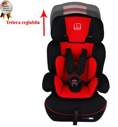 BabyGo - Scaun Auto Freemove Red 4