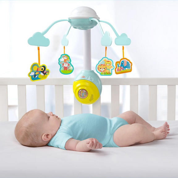 Bright Starts - Carusel Soothing Safari 2 In 1 Mobile 2