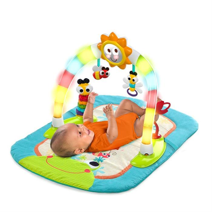 Bright Starts - Centru de activitati 2 in 1 Laugh & Lights 4