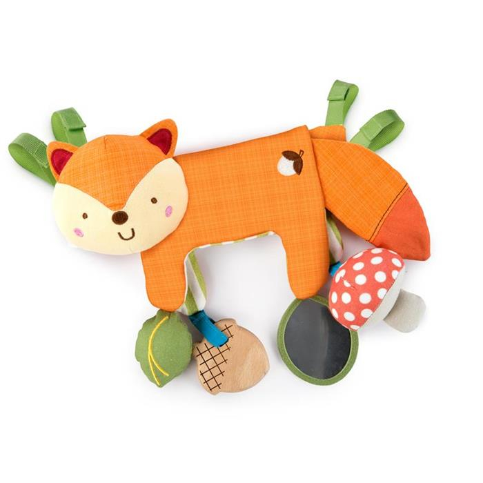 Bright Starts - Jucarie multifunctionala 2 in 1 Foxy Forest Toy Bar 0
