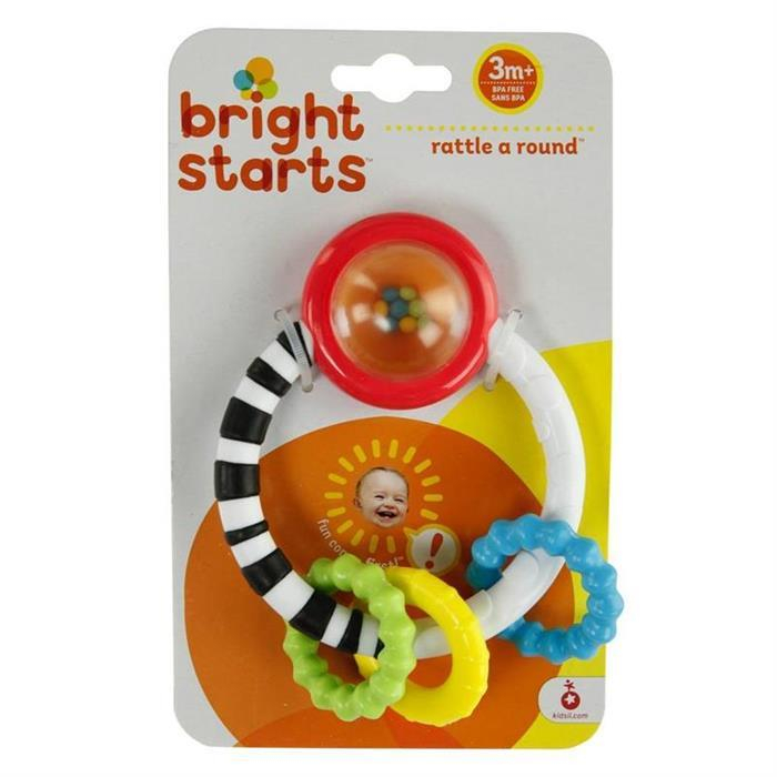 Bright Starts - Jucarie New Rattle A Round 1