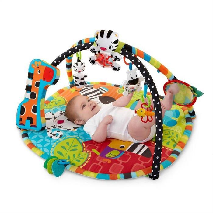 Bright Starts - Start Your Senses Salteluta Interactiva Spots & Stripes 0