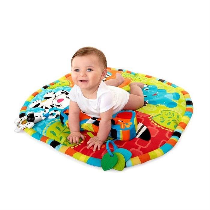 Bright Starts - Start Your Senses Salteluta Interactiva Spots & Stripes 1