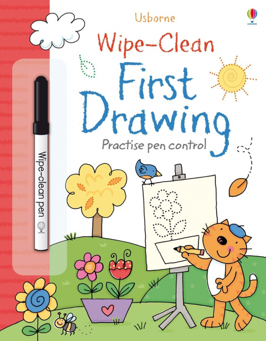 Wipe-clean first drawing 0