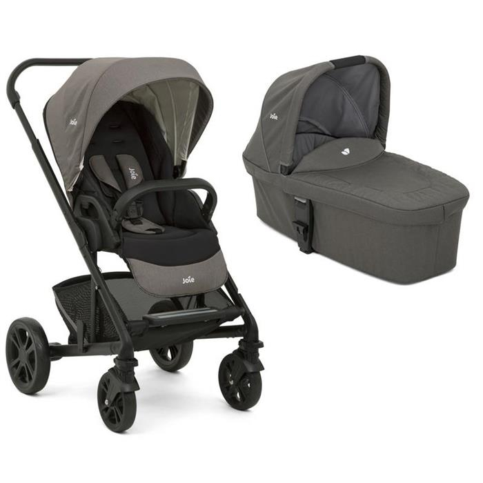 Joie -  Carucior multifunctional 2 in 1 Chrome Foggy Gray 0