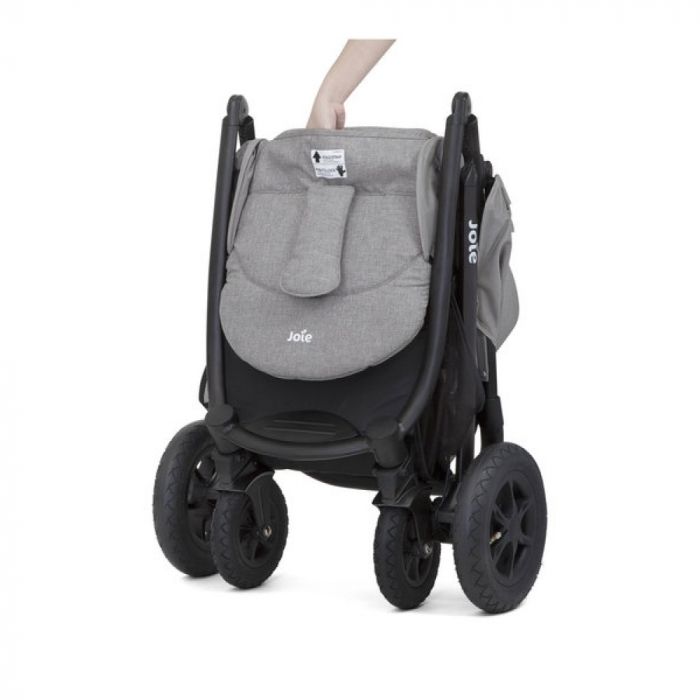 Joie - Carucior Multifunctional Litetrax 4 Air Gray Flannel 5