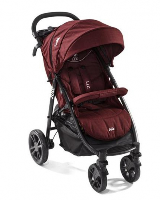Joie - Carucior Multifunctional Litetrax 4 Flex Liverpool Red 0
