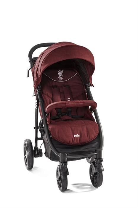 Joie - Carucior Multifunctional Litetrax 4 Flex Liverpool Red 2