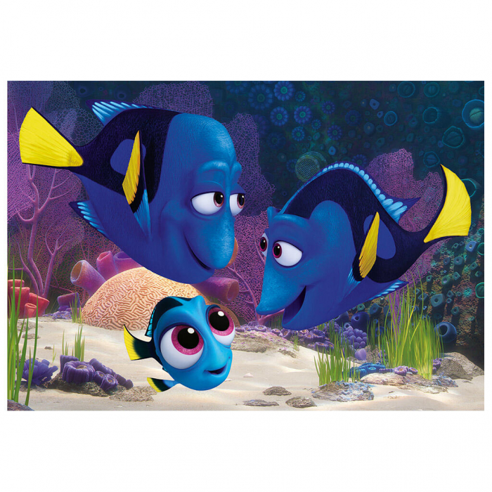 Puzzle 2 in 1 - Gasirea lui Dory (77 piese) 1