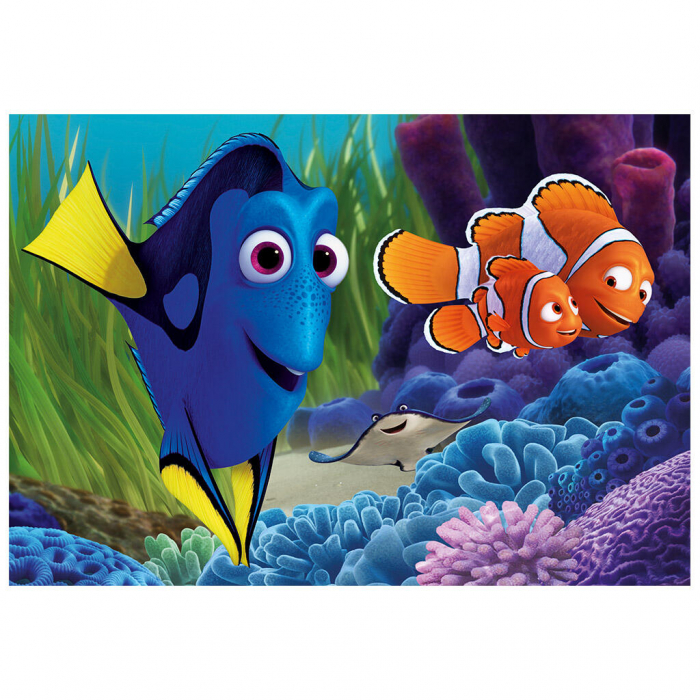 Puzzle 2 in 1 - Gasirea lui Dory (77 piese) 2