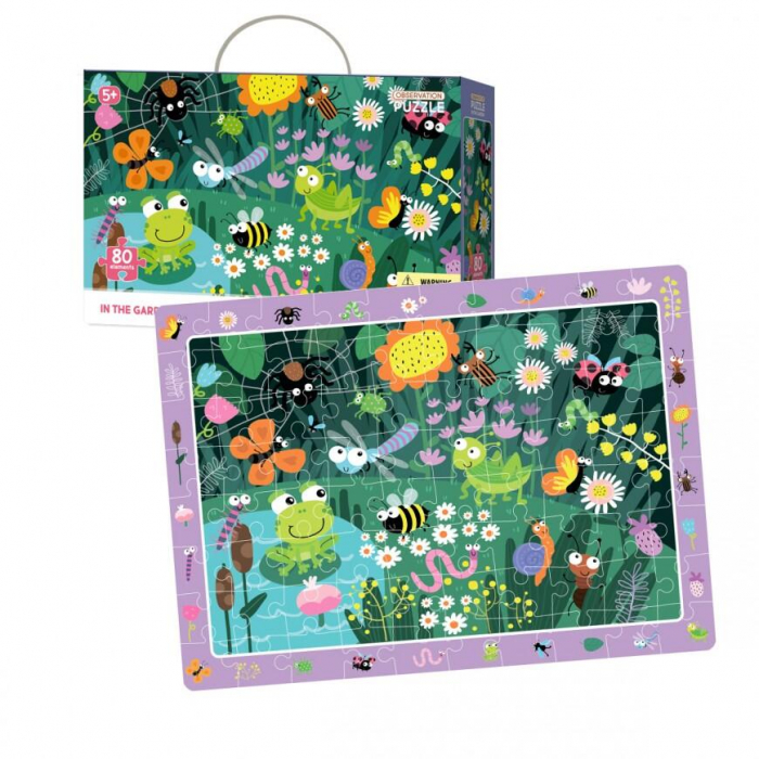 Puzzle - In gradina (80 piese) 2