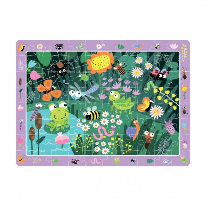 Puzzle - In gradina (80 piese) 1