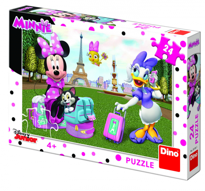 Puzzle - Minnie si Daisy (24 piese) 0