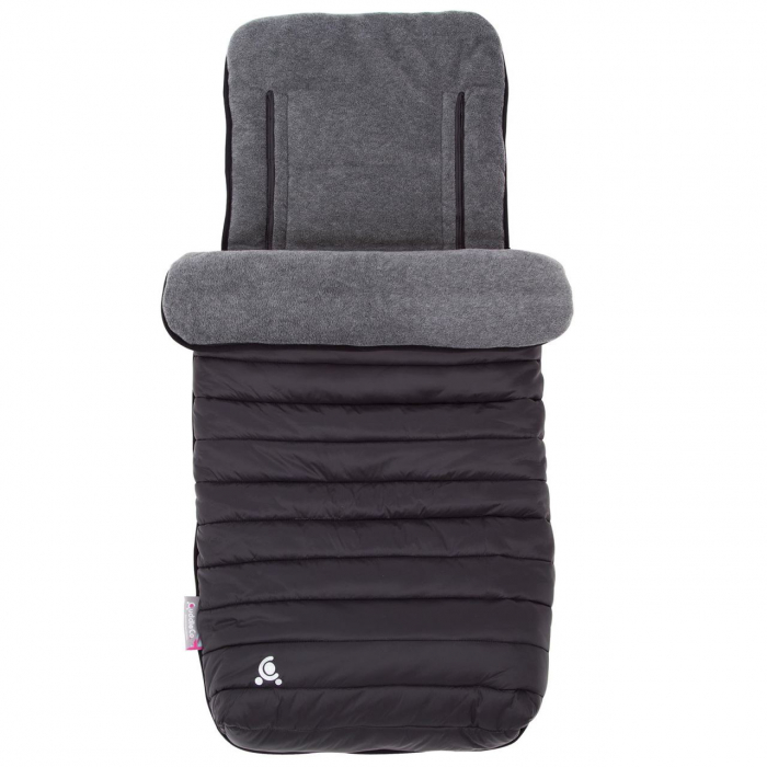 Sac de iarna Comfi-Snug Footmuff 2in1 Liquorice Black 843619 0