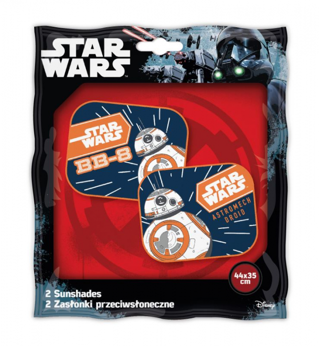 Set 2 parasolare auto Star Wars - BB8 SEV9315 1