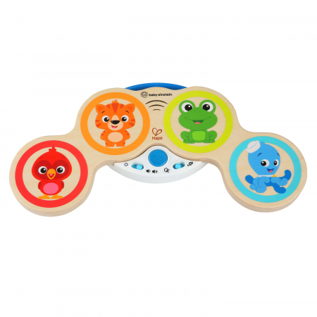 Baby Einstein - Jucarie muzicala de lemn Hape Magic Touch Drum0