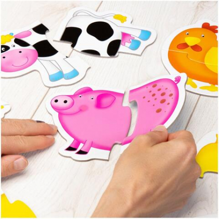 Baby Puzzle: Ferma (2 piese)2