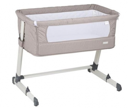 BabyGo - Patut co-sleeper 2 in 1 Together Beige0
