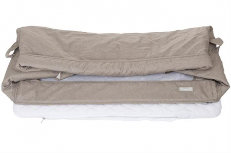 BabyGo - Patut co-sleeper 2 in 1 Together Beige4