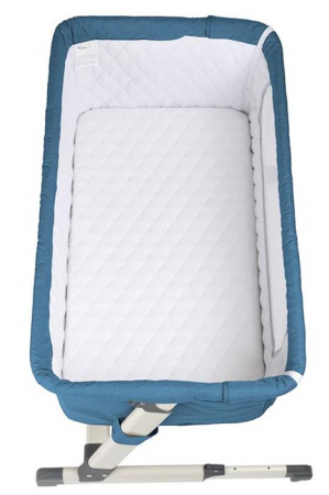 BabyGo - Patut co-sleeper 2 in 1 Together Turquoise Blue7