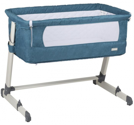 BabyGo - Patut co-sleeper 2 in 1 Together Turquoise Blue0
