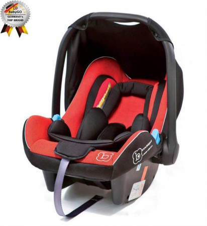BabyGo - Scoica Auto Traveller Xp Red0