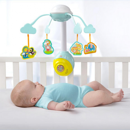 Bright Starts - Carusel Soothing Safari 2 In 1 Mobile2