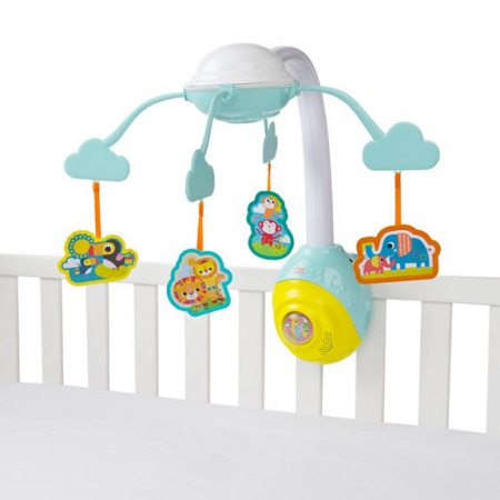 Bright Starts - Carusel Soothing Safari 2 In 1 Mobile0