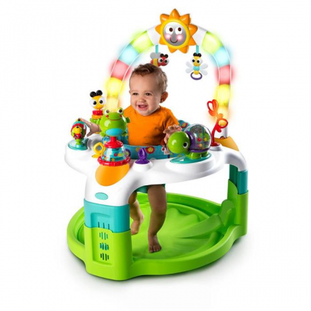 Bright Starts - Centru de activitati 2 in 1 Laugh & Lights5