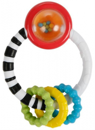 Bright Starts - Jucarie New Rattle A Round0