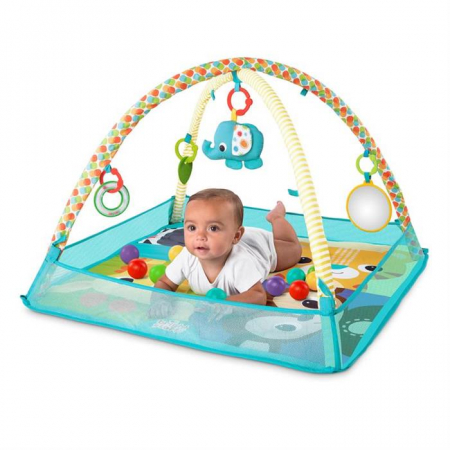 Bright starts - Salteluta de activitati cu bile More-in-One Ball Pit Fun3