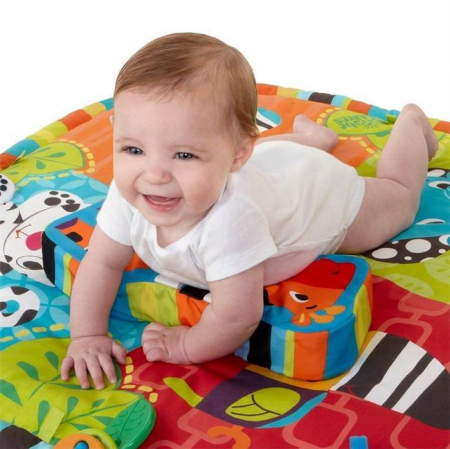 Bright Starts - Start Your Senses Salteluta Interactiva Spots & Stripes3