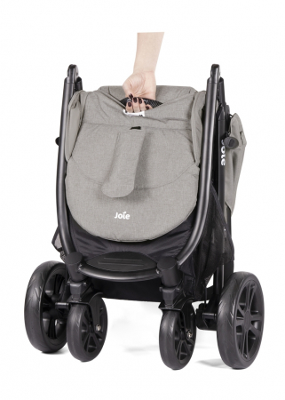 Joie - Carucior Multifunctional Litetrax 4 Gray Flannel5